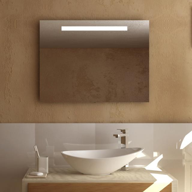treos Series 610 wall-mounted mirror with LED lighting