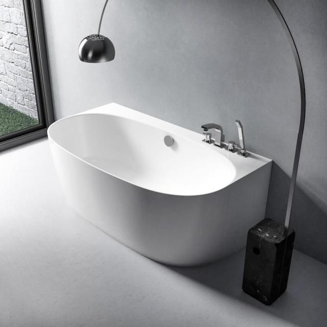 treos Series 710 back-to-wall bath with panelling