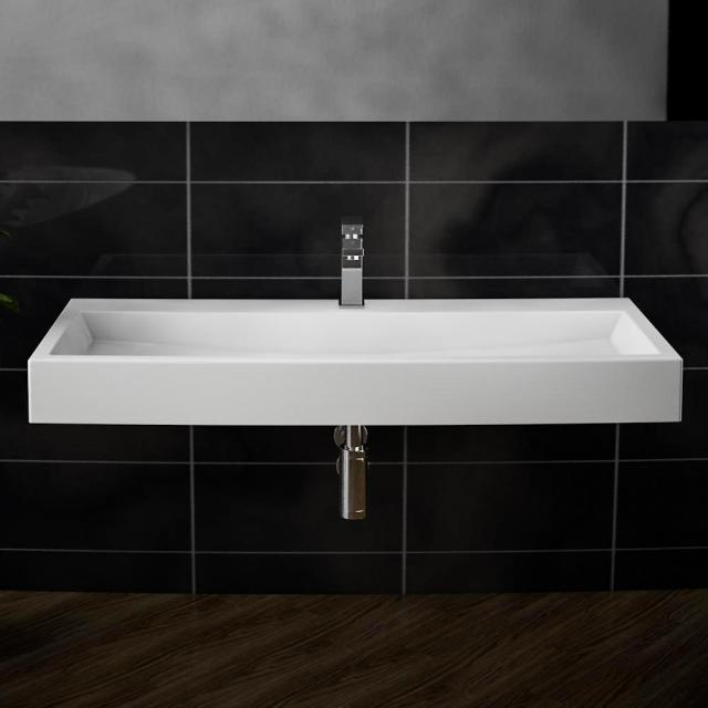 treos Series 710 washbasin with 1 tap hole