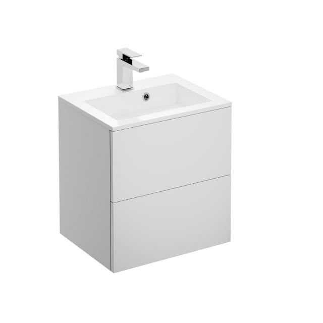 treos Series 915 hand washbasin with vanity unit with 2 pull-out compartments