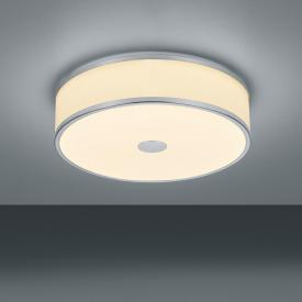 Trio Agento RGBW LED ceiling light with dimmer