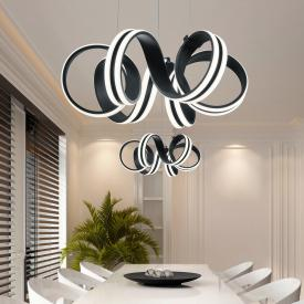 Trio Carrera LED pendant light with dimmer