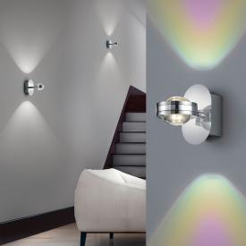 Trio Lentil LED wall light