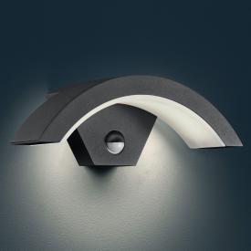 Trio Ohio LED wall light with motion sensor
