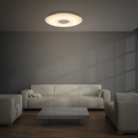 Trio Tokyo LED ceiling light with dimmer