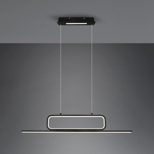 TRIO Aick LED pendant light with dimmer