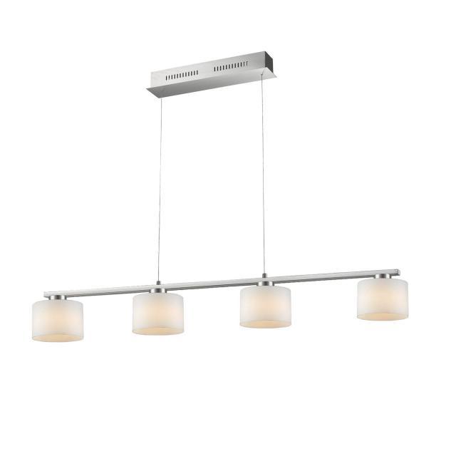 TRIO Alegro LED pendant light 4 heads