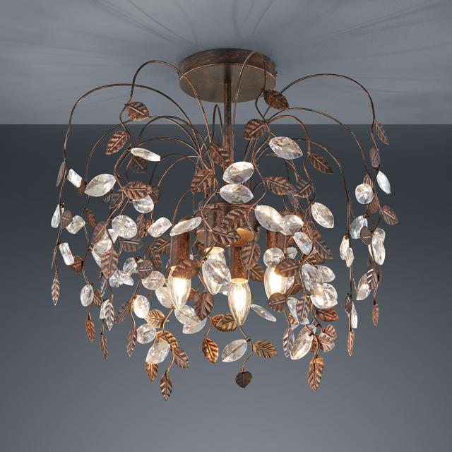TRIO Napoli ceiling light, 4 heads