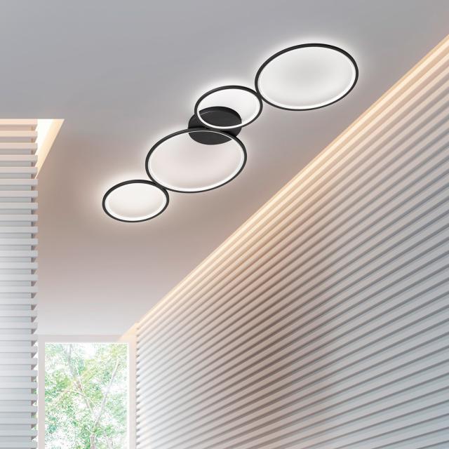 TRIO Rondo Plafonnier LED avec variateur