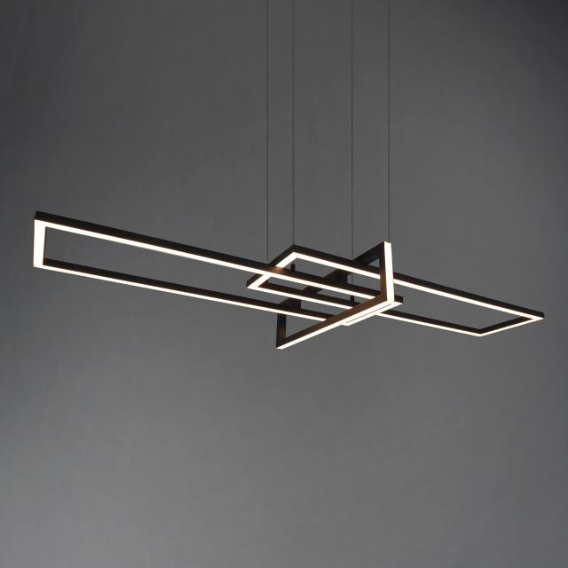 TRIO Salinas LED pendant light with dimmer