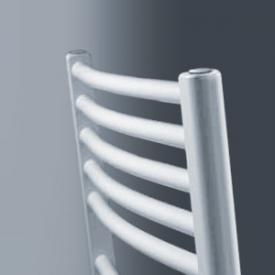 Vasco Bano-M bathroom radiator, with central connection, curved width 50 cm, 689 Watt