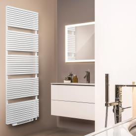 Vasco Blower Carré bathroom radiator for electronic operation only white, 1000 Watt