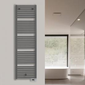Vasco Iris HD-EL bathroom radiator for purely electric operation anthracite january, 750 Watt