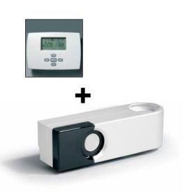 Vasco KIT SD-RF-L deluxe radio frequency thermostat/receiver white