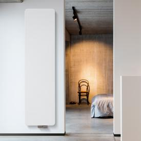 Vasco Oni design radiator, model O-NP white fine texture