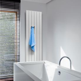 Vasco Zaros Vertical V100 radiator height 1800 mm white fine texture, width 600 mm, 8 tubes, 2326 Watt