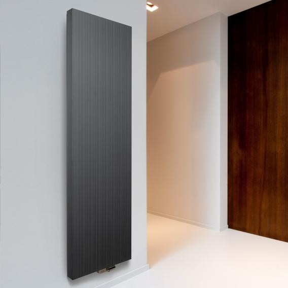Vasco Bryce designer radiator for hot water operation anthracite january, 2184 watts