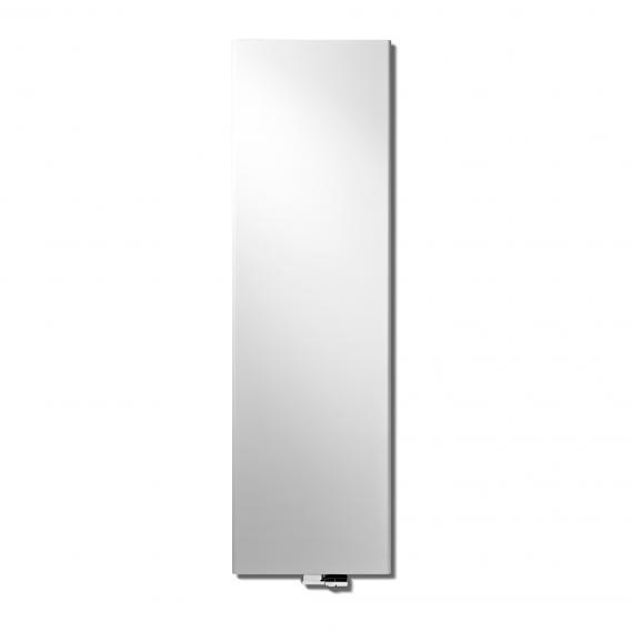 Vasco Niva Vertical radiator, single row white fine texture, 680 Watt