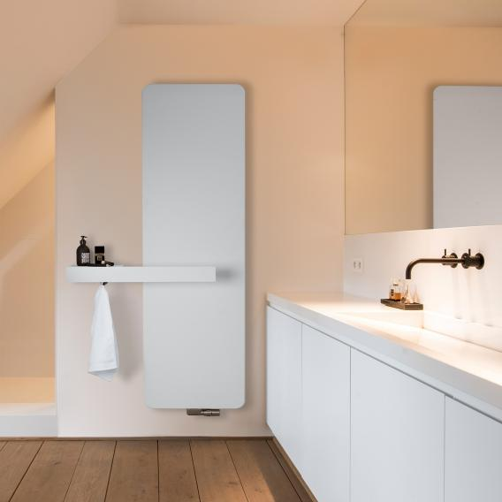 Vasco Oni design radiator, model O-NP white fine texture