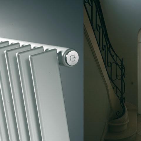 Vasco Tulipa vertical tall radiator, single row width 540 mm, 12 tubes, 1113 Watt