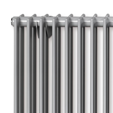 Vasco Tulipa horizontal low radiator, double row width 1800 mm, 40 tubes, 1677 Watt