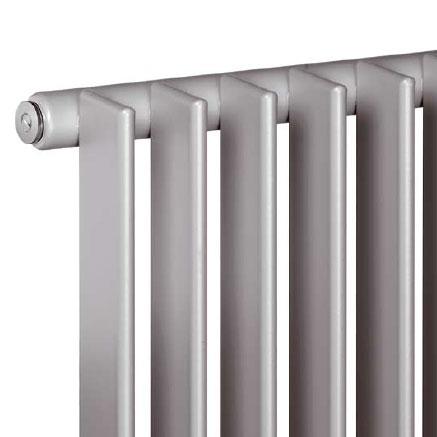 Vasco Tulipa horizontal low radiator, single row width 1260 mm, 28 tubes, 1221 Watt