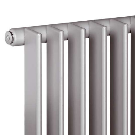 Vasco Tulipa vertical tall radiator, single row width 270 mm, 6 tubes, 357 Watt