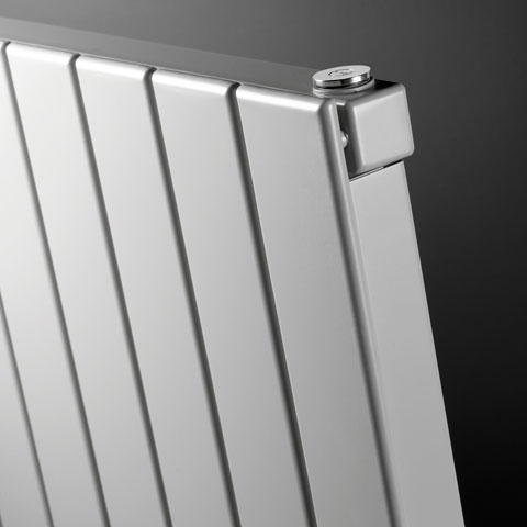 Vasco Viola radiator with panel height 180 cm width 360 mm, 5 tubes, 748 Watt