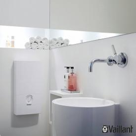 Vaillant electronicVED instantaneous water heater, electronically controlled, 30°C to 60°C