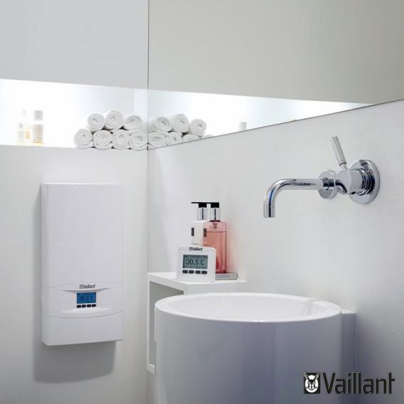 Vaillant electronicVED exclusive instantaneous water heater, fully electronically controlled, 20°C to 60°C