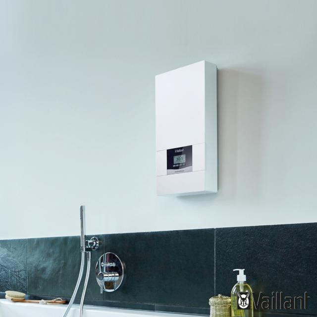 Vaillant electronicVED plus instantaneous water heater, electronically controlled, 20°C to 60°C