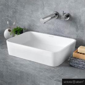 Victoria + Albert Edge 45 countertop washbasin white
