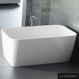 Victoria + Albert Edge freestanding bath white