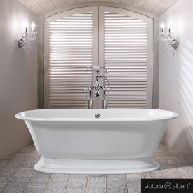 Victoria + Albert Elwick freestanding bath white
