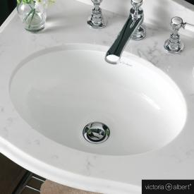 Victoria + Albert Kaali built-in washbasin white