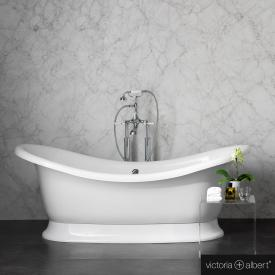Victoria + Albert Marlborough freestanding bath white