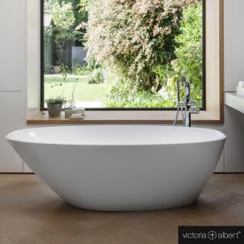 Victoria + Albert Mozzano freestanding bath white
