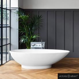 Victoria + Albert Napoli freestanding bath white