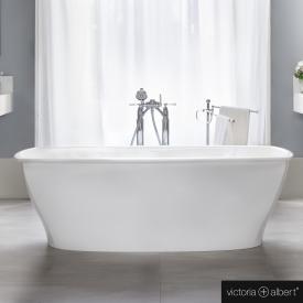 Victoria + Albert Pembroke freestanding bath white