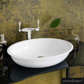 Victoria + Albert Radford 51 countertop washbasin white
