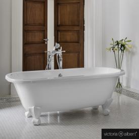 Victoria + Albert Richmond freestanding bath white