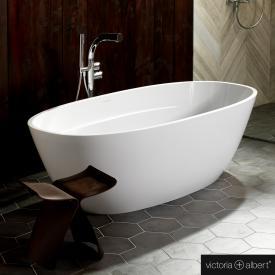 Victoria + Albert Terrassa freestanding bath white