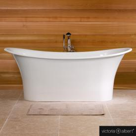 Victoria + Albert Toulouse freestanding bath white