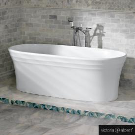 Victoria + Albert Warndon freestanding bath white