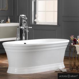 Victoria + Albert Worcester freestanding bath white