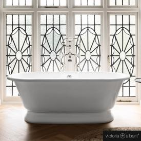 Victoria + Albert York freestanding bath white