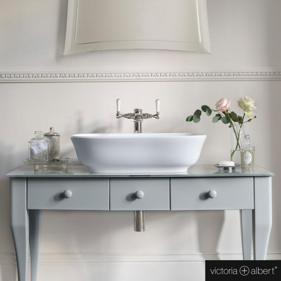 Victoria + Albert Amiata 60 countertop washbasin white