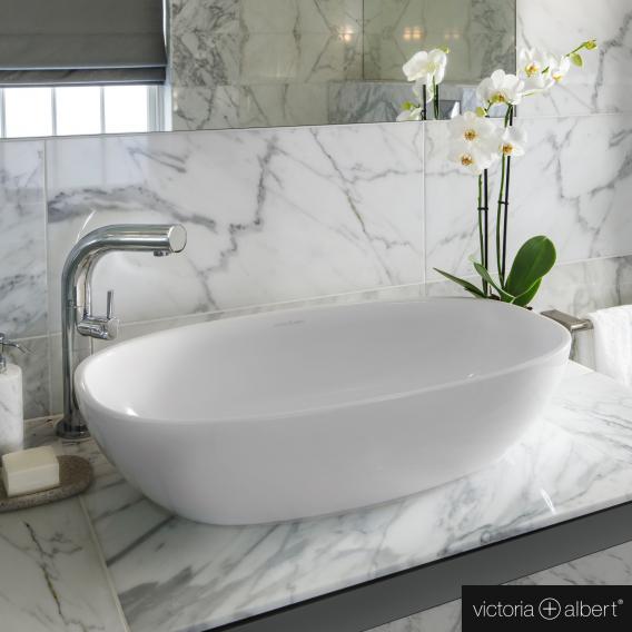 Victoria + Albert Barcelona 64 countertop washbasin white