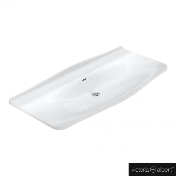 Victoria + Albert Mandello 114 Solo drop-in washbasin white, without tap hole