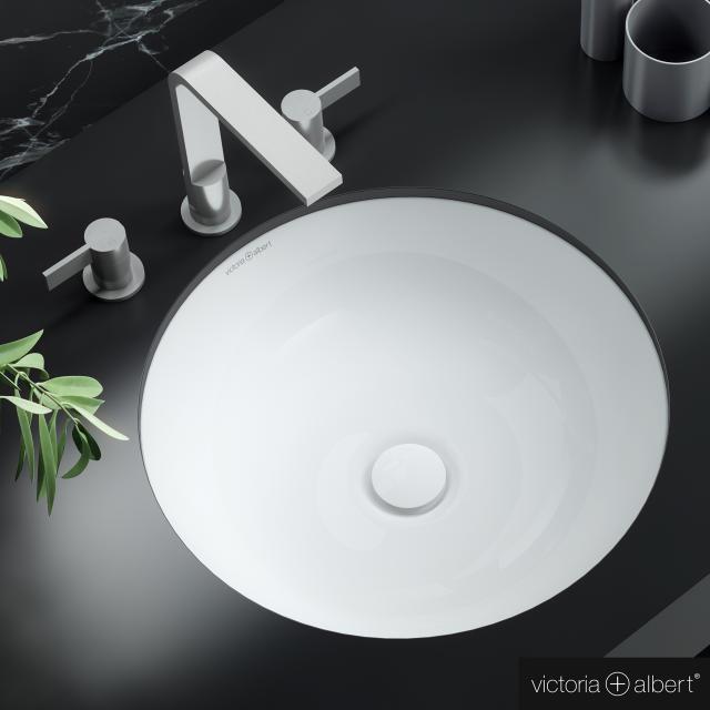 Victoria + Albert Kaali vanity washbasin white